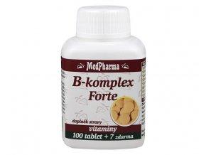 MedPharma B-komplex Forte 100 tbl. + 7 tbl. ZDARMA