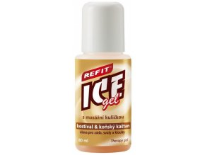 REFIT ICE GEL roll-on s kostivalem 80ml
