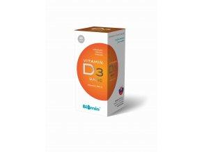 Biomin Vitamín D3 400 IU 60 tob.