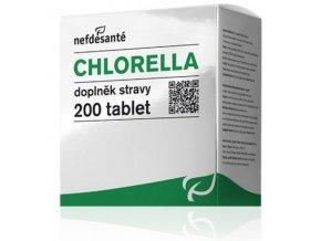Nefdesanté Chlorella 200 tbl.