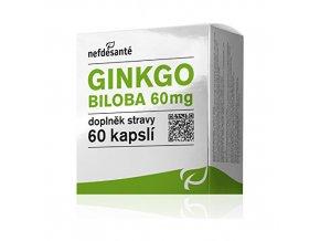 Nefdesanté Gingo Biloba 60 mg 60 kapslí