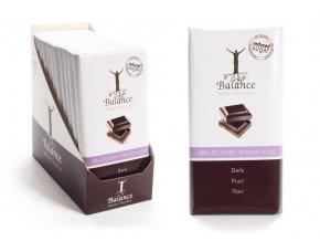 Balance hořká čokoláda bez přidaného cukru 100g