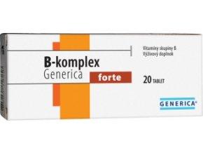 Generica B-komplex forte 20 tbl.