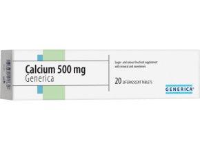 Generica Calcium 500 šumivý forte eff.tbl.20