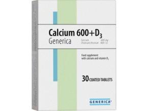 Generica Calcium 600+D3 30 tbl.