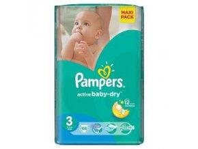 PAMPERS Active Baby VPP 3 Midi 4-9kg 68 kusů