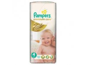 PAMPERS Premium Care 4 maxi 7 - 14 kg 52 kusů