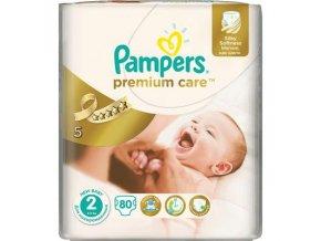 PAMPERS Premium Care 2 Mini 3-6 kg 80 kusů