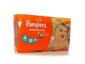 PAMPERS Sleep & Play 4 maxi 7 - 14 kg 50 kusů