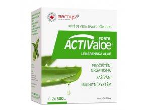 Barny´s ACTIValoe Lékárenská aloe 2x 500 ml