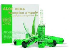 EVA Cosmetics Aloe vera ampule - intenzivní vlasová regenerační kúra 5x10 ml