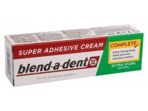 Blend-a-dent upevňující krém na zubní náhrady NEUTRAL 47g