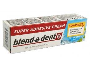 Blend-a-dent upevňující krém na zubní náhrady FRISH 47g