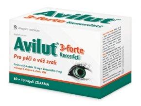 Avilut® 3-Forte Recordati 60 kapslí + 10 kapslí ZDARMA