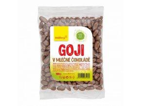 Wolfberry Goji Kustovnice čínská sušené plody v mléčné čokoládě 100 g