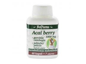 acai berry 1000 mg garcinia cambogia jablecny pektin 67 kapsli