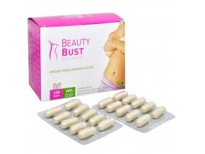 Natural Medicaments Beauty Bust Balance 120 kapslí