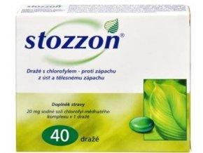 Stozzon 40 dražé s chlorofylem