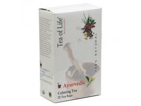 Tea of Life Ajurvédský Bio uklidňující čaj 25x2g