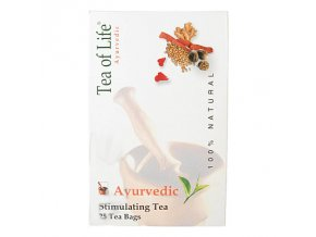 Tea of Life Ajurvédský Bio stimulační čaj 25x2g