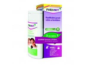 Omega Pharma Paranit sprej 100 ml + šampon 100 ml ZDARMA + hřeben ZDARMA