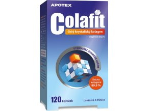 Apotex Colafit (čistý kolagen) 120 kostiček