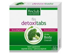 Finclub Fin Detoxitabs 40 tbl.