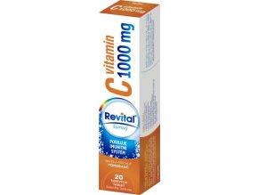 Revital Vitamin C 1000 mg s příchutí pomeranče eff. tbl. 20