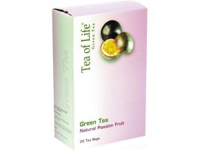 Tea of Life Green tea s mučenkou 20x2g