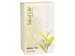 Tea of life White tea bílý 25x2g