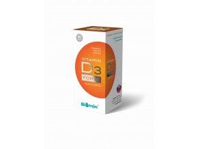 Biomin Vitamin D3 Forte 1000 I.U. 60 kapslí