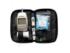 Glukometr EasyGluco s 25ks testovacích proužků+25 lancet