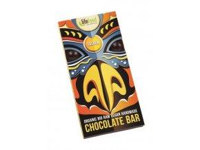 Lifefood Bio Živá čokoláda s kešu oříšky Raw 70 g