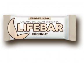 Lifefood Lifebar Bio kokosová tyčinka 47 g