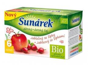 Hero Sunárek dětský čaj jablečný se šípky 20 x 1,5g