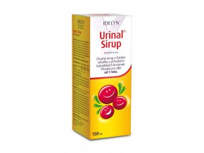 idelyn urinal sirup 150ml cz