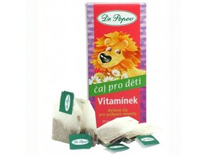 Dr. Popov Dětský bylinný čaj Vitamínek 20 n.s.