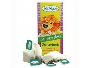 Dr. Popov Dětský bylinný čaj Zdravínek 20 n.s.