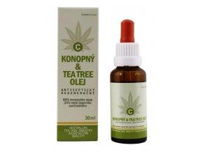 MedicProgress Konopný & Tea Tree olej 30 ml