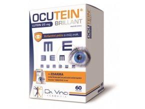 Ocutein Brillant Lutein 25 mg 60 tob.+ Ocutein® Sensitive zvlhčující oční kapky