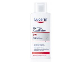 Eucerin Šampon na vlasy pro citlivou pokožku pH5 Dermocapillaire 250 ml