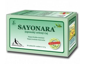 Phoenix Monopol Sayonara - Japonský zelený čaj 20x1,5 g