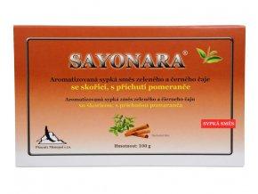 Phoenix Monopol Sayonara - čajová směs se skořicí s příchutí pomeranče 100 g