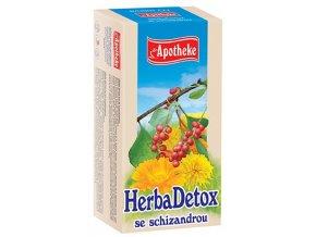 Apotheke HerbaDetox se schizandrou čaj 20x1.5g