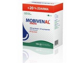 Vulm Mobivenal micro 100 tbl. + 20 tbl. ZDARMA