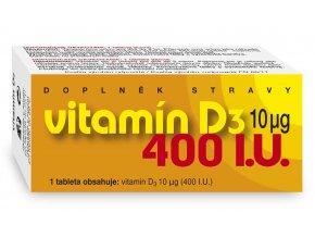Naturvita Vitamín D3 400 I.U. 90 tbl.