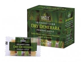 Grešík Cukr Dry Demerara třtinový přírodní světlý 40 sáčků