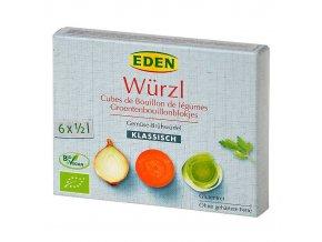 WÜRZL BIO Zeleninový bujon kostky 66 g