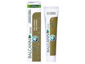 Annabis Balcann dubová kůra - gel z konopí s koloidním stříbrem 75 ml