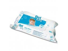 Bel Vlhké utěrky Bel Baby (Baby Wipes) 60 ks